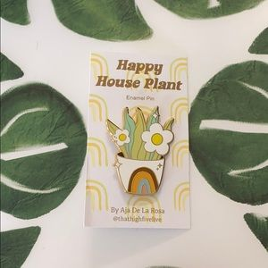 That High Five Life 'Happy House Plant' Pin
